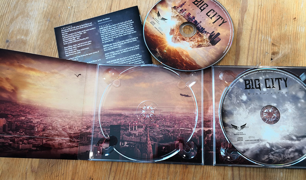 CD Artwork: Big City – Big City Life